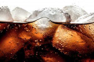 soda close-up